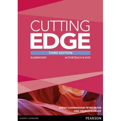 Cutting Edge Third Edition Elementary Active Teach (Interactive Whiteboard Software) Pearson 9781447906322