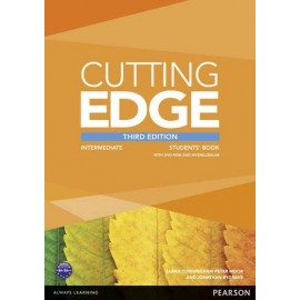 Cutting Edge Third Edition Intermediate Student's Book + DVD-ROM + Access to MyEnglishLab