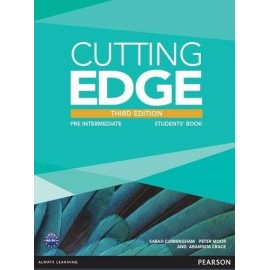 Cutting Edge Third Edition Pre-Intermediate Student's Book + DVD-ROM