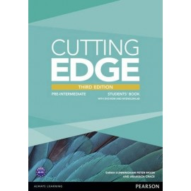 Cutting Edge Third Edition Pre-Intermediate Student's Book + DVD-ROM + Access to MyEnglishLab