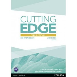 Cutting Edge Third Edition Pre-Intermediate Workbook with Key
