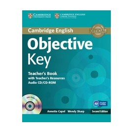 Objective Key Second Edition Teacher's Book +Teacher's Resources Audio CD/CD-ROM
