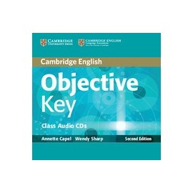 Objective Key Second Edition Class Audio CD
