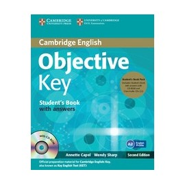 Objective Key Second Edition Student's Book Pack (Student's Book with answers + CD-ROM + Class Audio CDs)