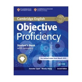 Objective Proficiency Second Edition Student's Book with answers + Downloadable Software