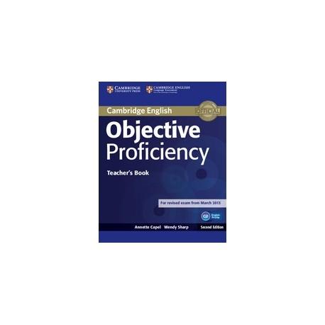 Objective Proficiency Second Edition Teacher's Book Cambridge University Press 9781107670563