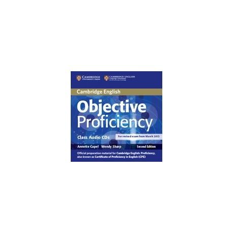 Objective Proficiency Second Edition Class CDs Cambridge University Press 9781107676343