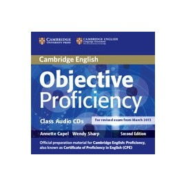 Objective Proficiency Second Edition Class CDs