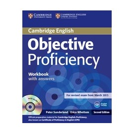 Objective Proficiency Second Edition Workbook with answers + audio CD