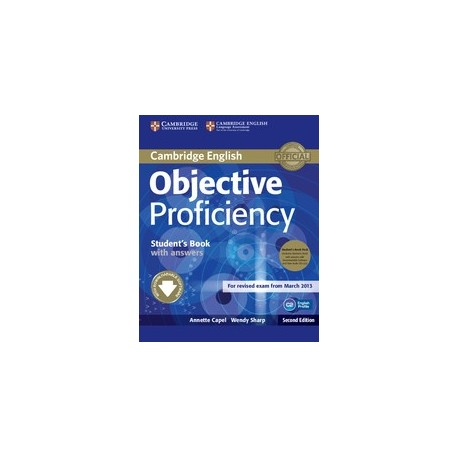 Objective Proficiency Second Edition Student's Book Pack (Student's Book with answers + Downloadable Software + Class CDs) Cambridge University Press 9781107633681