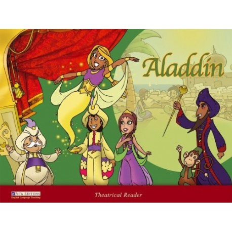 Theatrical Reader Level 1: Aladdin + CD Heinle Cengage Learning 9789604036059