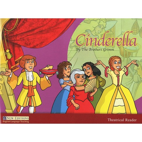 Theatrical Reader Level 3: Cinderella + CD Heinle Cengage Learning 9789604034192