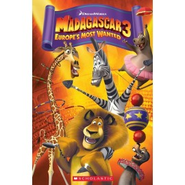 Popcorn ELT: Madagascar 3 - Europe's Most Wanted + CD (Level 3)