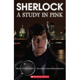 Scholastic Readers: Sherlock - A Study in Pink + CD
