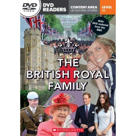 Scholastic Readers: The British Royal Family + DVD Scholastic 9781908351869