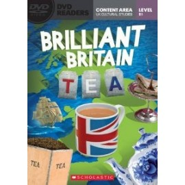 Scholastic Readers: Brilliant Britain - Tea + DVD