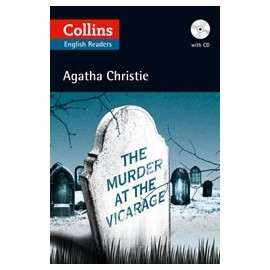 Collins English Readers: The Murder at the Vicarage + MP3 Audio CD