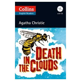 Collins English Readers: Death in the Clouds + MP3 Audio CD