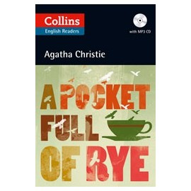 Collins English Readers: A Pocket Full of Rye + MP3 Audio CD