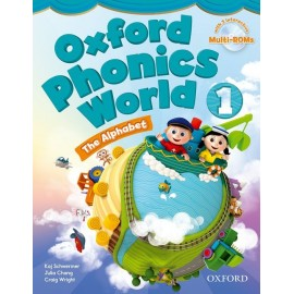 Oxford Phonics World 1 The Alphabet Student's Book + MultiROMs