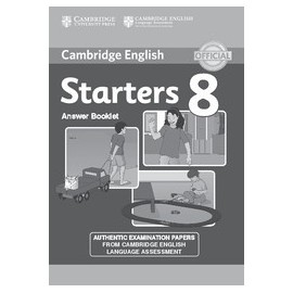 Cambridge English Young Learners 8 Starters Answer Booklet