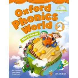 Oxford Phonics World 2 Short Vowels Student's Book + MultiROMs