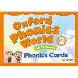 Oxford Phonics World 2 Short Vowels Phonics Cards