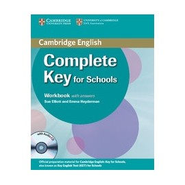 Complete Key for Schools Workbook with answers + Audio CD