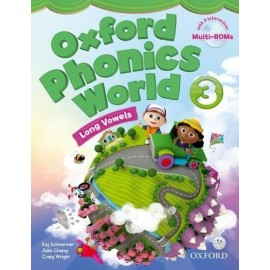 Oxford Phonics World 3 Long Vowels Student's Book + MultiROMs