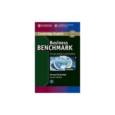 Business Benchmark Second Edition Pre-intermediate - Intermediate BULATS and Business Preliminary Personal Study Book Cambridge University Press 9781107628489