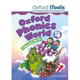 Oxford Phonics World 4 Consonant Blends iTools DVD-ROM