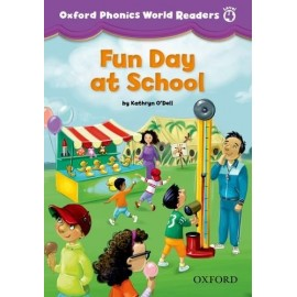 Oxford Phonics World 4 Reader Fun Day at School