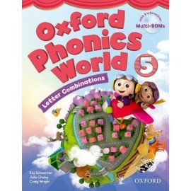 Oxford Phonics World 5 Letter Combinations Student's Book + MultiROMs