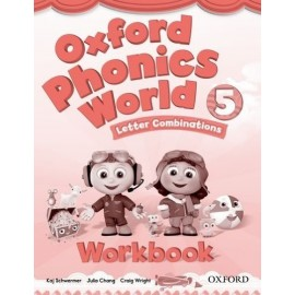Oxford Phonics World 5 Letter Combinations Workbook