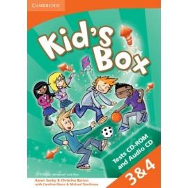 Kid's Box 3-4 Tests CD-ROM + Audio CD