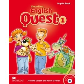 Macmillan English Quest 1 Pupil´s Book Pack + CD-ROM