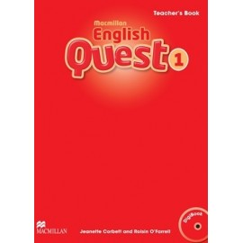 Macmillan English Quest 1 Teacher´s Book Pack + CD-ROM