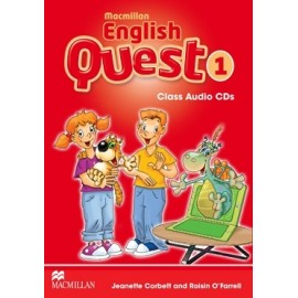 Macmillan English Quest 1 Audio CDs
