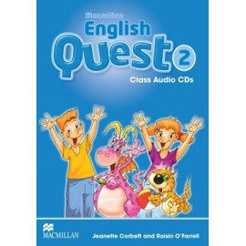 Macmillan English Quest 2 Audio CDs