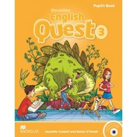 Macmillan English Quest 3 Pupil´s Book Pack + CD-ROM