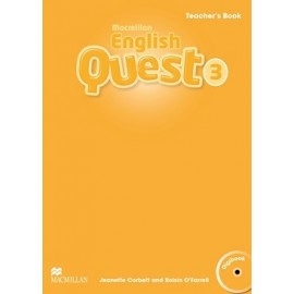 Macmillan English Quest 3 Teacher´s Book Pack +CD-ROM
