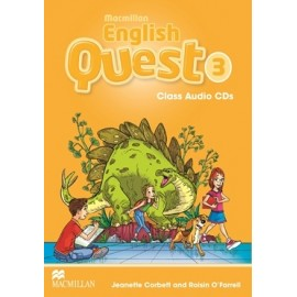 Macmillan English Quest 3 Audio CDs