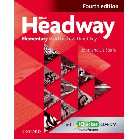 New Headway Elementary Fourth Edition Workbook without Key + iChecker CD-ROM Oxford University Press 9780194770538