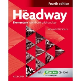 New Headway Elementary Fourth Edition Workbook without Key + iChecker CD-ROM