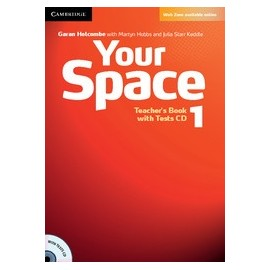 Your Space 1 Teacher's Book + Tests CD