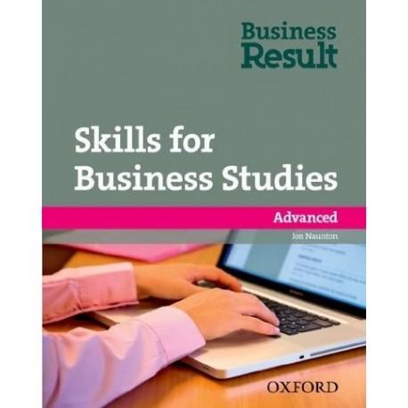Skills for Business Studies Advanced Workbook Oxford University Press 9780194739498