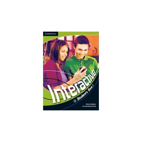 Interactive 1 Student's Book + Web Zone access Cambridge University Press 9780521712088