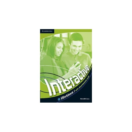 Interactive 1 Workbook + Downloadable Audio Cambridge University Press 9780521712095