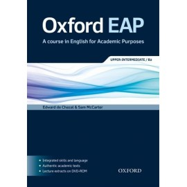 Oxford EAP English for Academic Purposes B2 Upper-Intermediate Student's Book + DVD-ROM