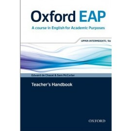 Oxford EAP English for Academic Purposes B2 Upper-Intermediate Teacher's Handbook + DVD-ROM